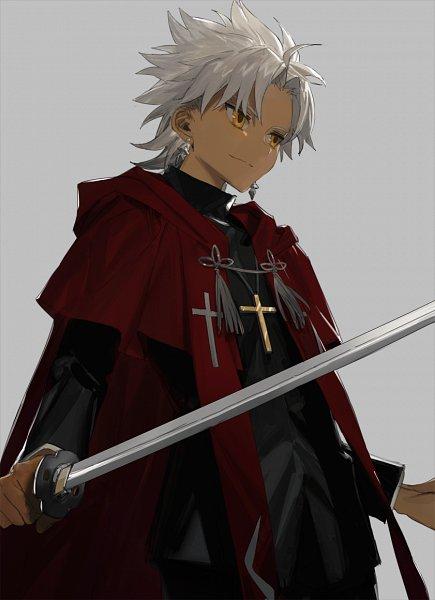 Tags: Anime, Hrt2, Fate/Apocrypha, Kotomine Shirou (Fate/Apocrypha), Clergy