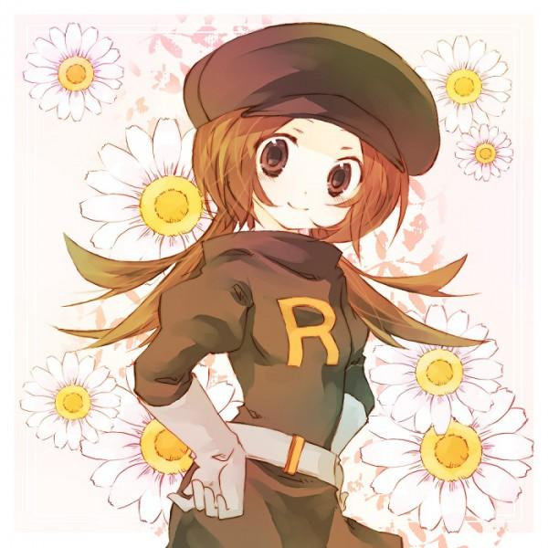 Tags: Anime, Amamiya Kabosu, Pokémon, Kotone (Pokémon), Daisy (Flower), Pokémon (Cosplay), Team Rocket (Cosplay), Fanart