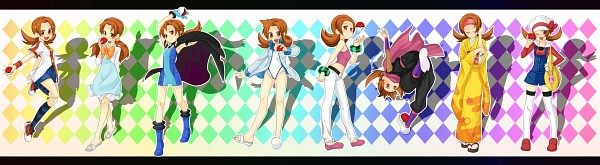 Tags: Anime, Saku (Pixiv526117), Pokémon, Kotone (Pokémon), Natsume (Pokémon) (Cosplay), Akane (Pokémon) (Cosplay), Erika (Pokémon) (Cosplay), Anzu (Pokémon) (Cosplay), Pokémon (Cosplay), Ibuki (Pokémon) (Cosplay), Kasumi (Pokémon) (Cosplay), Mikan (Pokémon) (Cosplay)