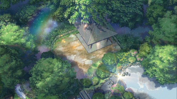 Tags: Anime, Kotonoha no Niwa, No Character, Artist Request, Facebook Cover