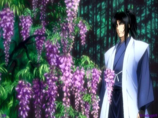 Tags: Anime, Basilisk, Kouga Gennosuke, Wisteria