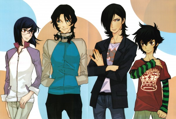 Kouga Yun X Gundam 00 - Design Works - Mobile Suit Gundam 00
