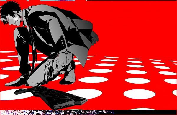 Tags: Anime, Pixiv Id 768292, PSYCHO-PASS, Kougami Shinya, Fanart, Fanart From Pixiv, Pixiv