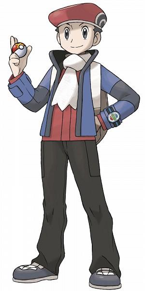 Tags: Anime, Sugimori Ken, GAME FREAK, Nintendo, Pokémon, Kouki (Pokémon), Official Art, Cover Image, PNG Conversion, Lucas (pokemon)