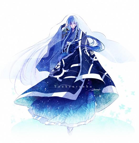 Tags: Anime, mokoppe, Touken Ranbu, Kousetsu Samonji, PNG Conversion, Fanart, Twitter