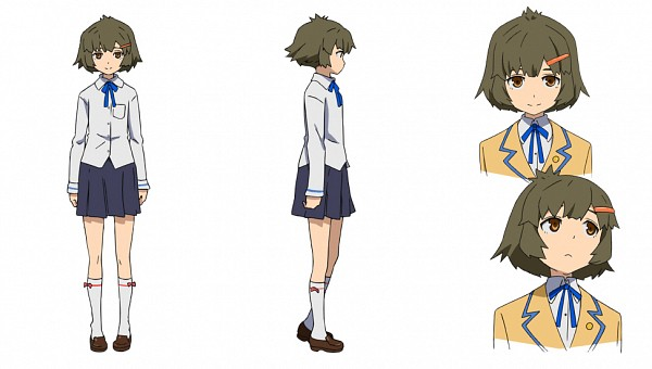 Tags: Anime, SANZIGEN, Black★Rock Shooter, Koutari Yuu, Character Sheet, Facebook Cover, Official Art