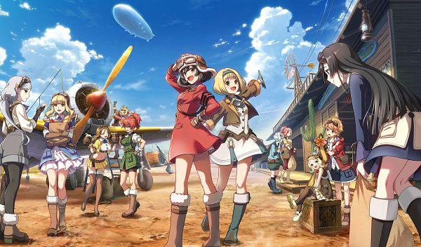 Kouya no Kotobuki Hikoutai: Oozora no Take Off Girls! - Bandai Namco Entertainment