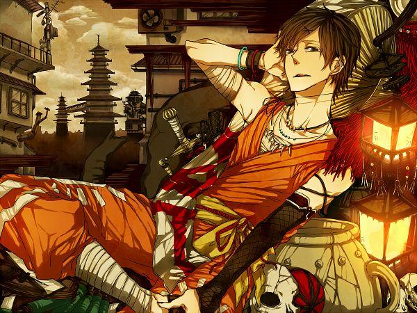 Tags: Anime, Pixiv Id 369984, Bis, Pixiv, Kowloon Retro, Wallpaper, Fanart, Nico Nico Singer