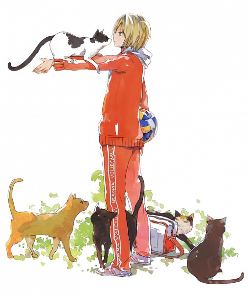 Tags: Anime, Nuriko-kun, Haikyuu!!, Kozume Kenma, Volleyball Ball, Fanart From Pixiv, Pixiv, Fanart