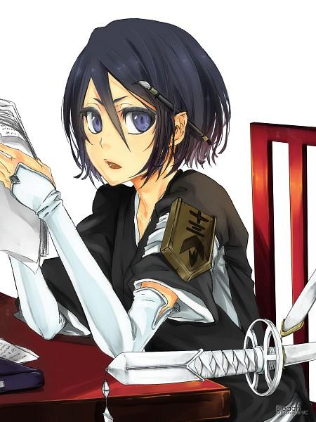 Tags: Anime, Pikeish, BLEACH, Kuchiki Rukia, Fanart, deviantART, Bleach: After Timeskip, Pixiv, Fanart From Pixiv, PNG Conversion