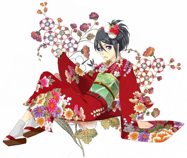Tags: Anime, Tr Dan, BLEACH, Kuchiki Rukia, Fanart From Pixiv, Fanart, PNG Conversion, Pixiv