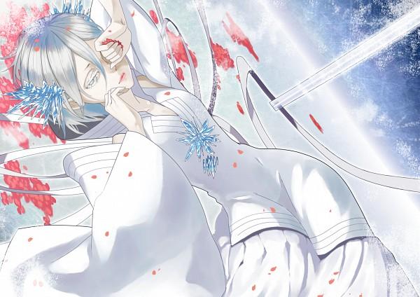 Tags: Anime, Tr Dan, BLEACH, Kuchiki Rukia, Bankai, Fanart From Pixiv, PNG Conversion, Fanart, Pixiv