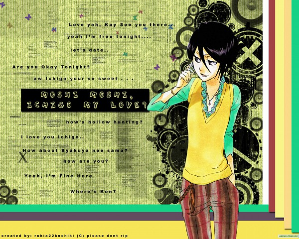 Tags: Anime, BLEACH, Kuchiki Rukia, Wallpaper, Gotei 13