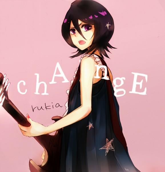 Tags: Anime, Setu00ka, BLEACH, Kuchiki Rukia, Bass Guitar, Pixiv, Fanart