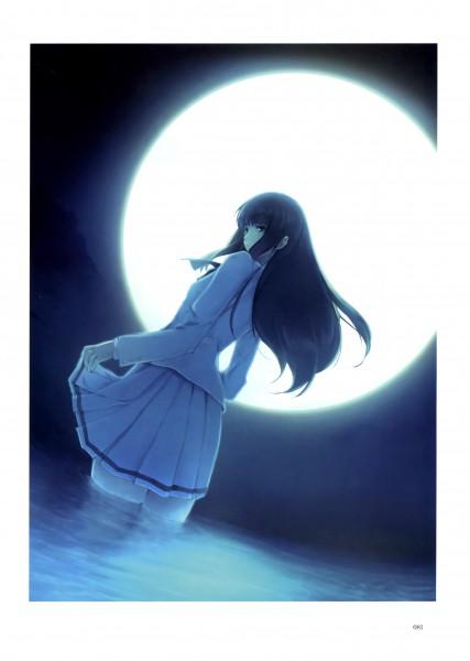 Tags: Anime, Sugina Miki, Innocent Grey, Nuregarasu, Kara no Shoujo, Kuchiki Toko, Mobile Wallpaper