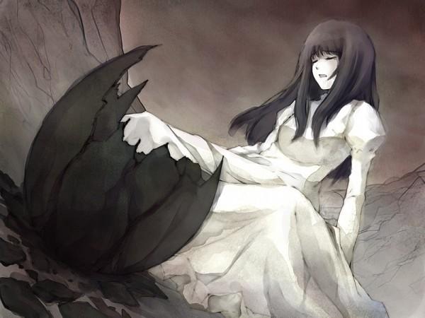 Tags: Anime, Sugina Miki, Innocent Grey, Kara no Shoujo, Kuchiki Toko, Hatching, CG Art