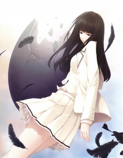 Tags: Anime, Sugina Miki, Innocent Grey, Nuregarasu, Kara no Shoujo, Kuchiki Toko, Hatching