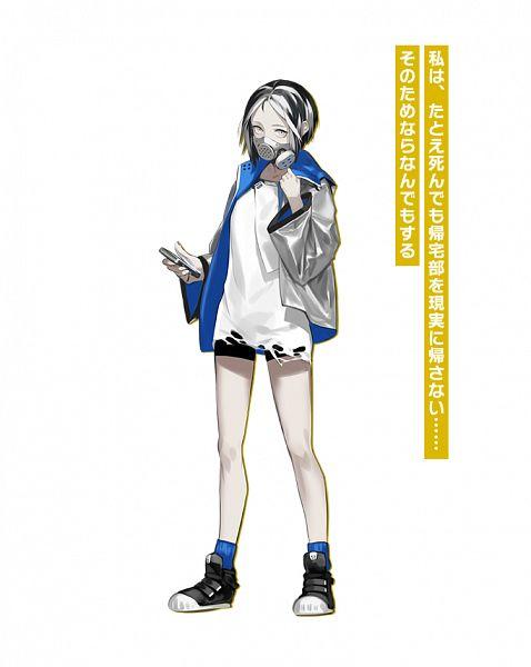 Tags: Anime, OGch, Historia (Studio), Caligula: Overdose, Caligula, Kuchinashi (Caligula), Official Art