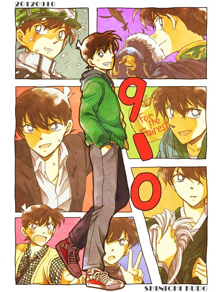 Tags: Anime, Pixiv Id 1644148, Meitantei Conan, Kudou Shinichi, Fanart, Fanart From Pixiv, Pixiv, Jimmy Kudo