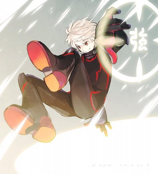 Tags: Anime, Hana (Wakahana), World Trigger, Kuga Yuuma