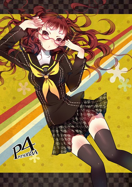Tags: Anime, Domotolain, Shin Megami Tensei: PERSONA 4, Kujikawa Rise, Mobile Wallpaper, Pixiv