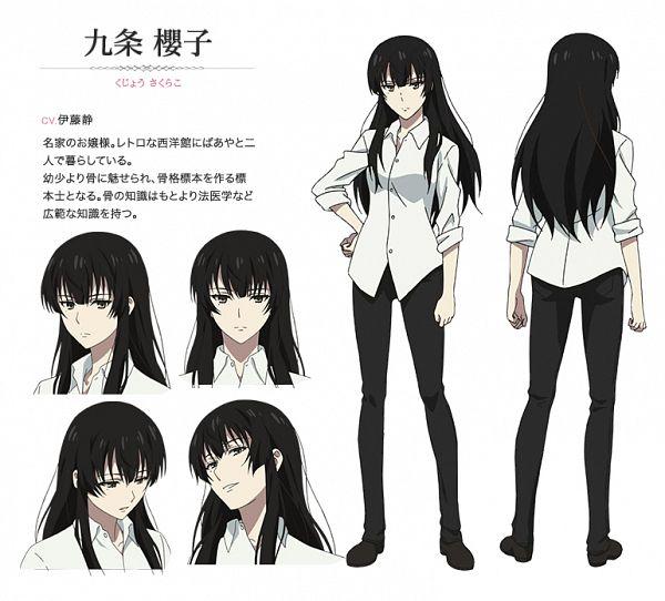 Kujou Sakurako (Sakurako-san) - Sakurako-san no Ashimoto ni wa Shitai ga Umatteiru