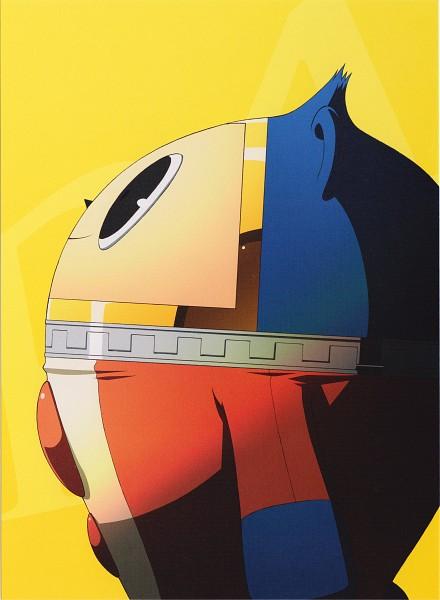 Tags: Anime, Soejima Shigenori, Shin Megami Tensei: PERSONA 4, Kuma, Scan, Official Art