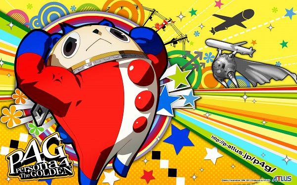 Tags: Anime, Soejima Shigenori, Atlus, Shin Megami Tensei: PERSONA 4, Kuma, Kintokidouji, Missile, Square, Official Wallpaper, Wallpaper, Official Art