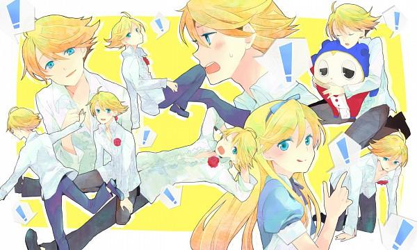 Tags: Anime, Shin Megami Tensei: PERSONA 4, Kuma, Fanart
