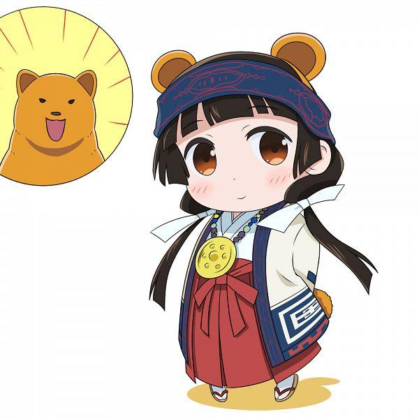 Tags: Anime, Denden, Kuma Miko, Kumai Natsu, Amayadori Machi, Ainu Clothes