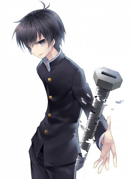 Tags: Anime, bon (Artist), Medaka Box, Kumagawa Misogi, Screws, Fanart