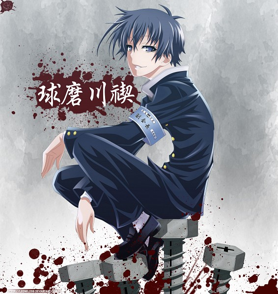 Tags: Anime, Leonel098, Medaka Box, Kumagawa Misogi, Screws, deviantART, Fanart