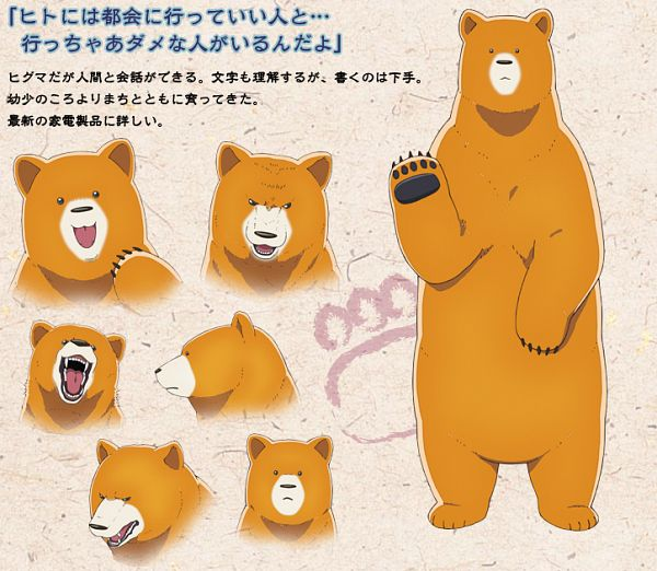 Tags: Anime, Saida Hiroyuki, Kinema Citrus, EMT Squared, Kuma Miko, Kumai Natsu, Cover Image, PNG Conversion, Official Art
