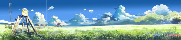 Tags: Anime, Makoto Shinkai, Kumo no Mukou Yakusoku no Basho, Railroad Tracks, Beyond The Clouds, The Promised Place