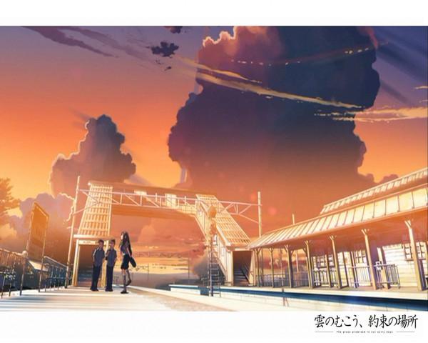 Tags: Anime, Makoto Shinkai, Kumo no Mukou Yakusoku no Basho, Wallpaper, Beyond The Clouds, The Promised Place