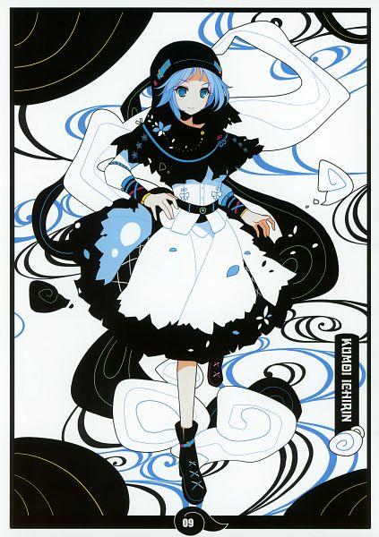 Tags: Anime, Ideolo, NEKO WORKi, BLACK♣ALBUM 2, Touhou, Undefined Fantastic Object, Kumoi Ichirin, Comic Market 80, Mobile Wallpaper, Ichirin Kumoi
