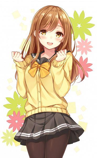 Tags: Anime, nagisa3710, Love Live! Sunshine!!, Kunikida Hanamaru, Green Flower, Pixiv, Fanart, Fanart From Pixiv, Mobile Wallpaper, PNG Conversion, Hanamaru Kunikida