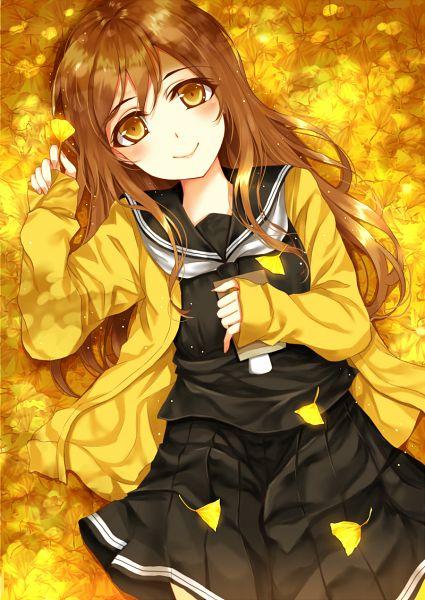 Tags: Anime, Pixiv Id 9553434, Love Live! Sunshine!!, Kunikida Hanamaru, PNG Conversion, Mobile Wallpaper, Hanamaru Kunikida