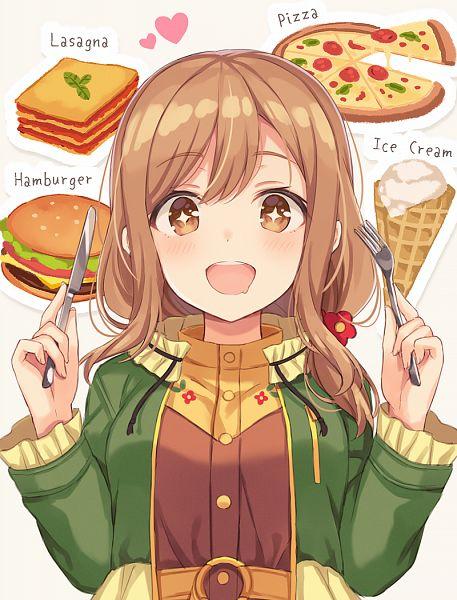 Tags: Anime, nagisa3710, Love Live! Sunshine!!, Love Live! Sunshine!! The School Idol Movie: Over the Rainbow, Kunikida Hanamaru, Pizza, Lasagne, Pixiv, Fanart, Fanart From Pixiv, Hanamaru Kunikida