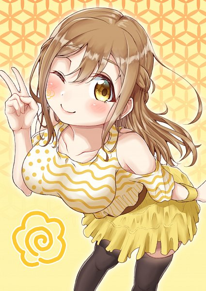 Tags: Anime, Pixiv Id 7372779, Love Live! Sunshine!!, Kunikida Hanamaru, Fanart From Pixiv, Pixiv, Fanart, Hanamaru Kunikida