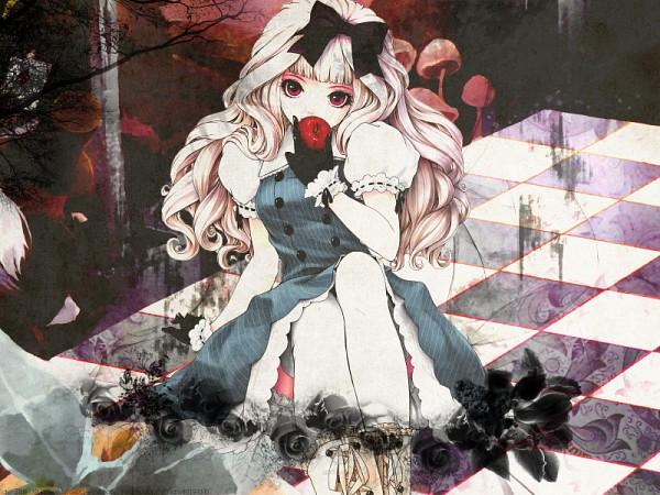 Tags: Anime, Kunishige Keiichi, Alice in Wonderland, Alice (Alice in Wonderland), Pixiv, Original