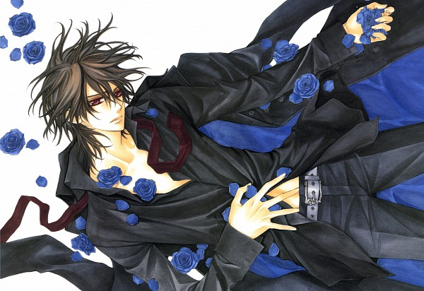 Tags: Anime, Hino Matsuri, Vampire Knight Illustrations, Vampire Knight, Kuran Kaname, Waifus, Clean Version, Scan, Official Art