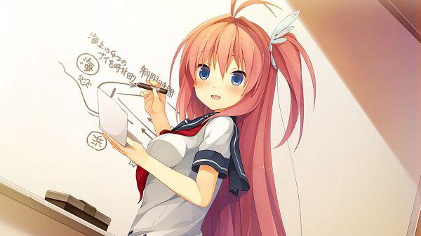 Tags: Anime, Suzumori, DMM Games, Ao no Kanata no Four Rhythm, Kurashina Asuka, CG Art