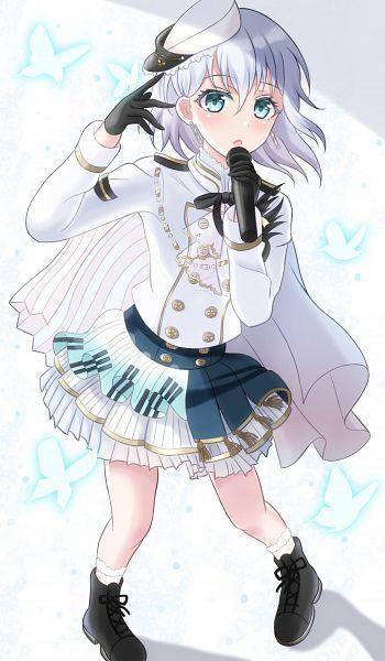 Tags: Anime, Pixiv Id 21709432, BanG Dream! Girls Band Party!, Kurata Mashiro, Pixiv, Fanart, Fanart From Pixiv