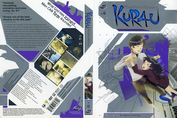 Tags: Anime, Kurau Phantom Memory, Ayaka Steiger, Kurau Amami, Scan, Artbook Cover, Magazine (Source)