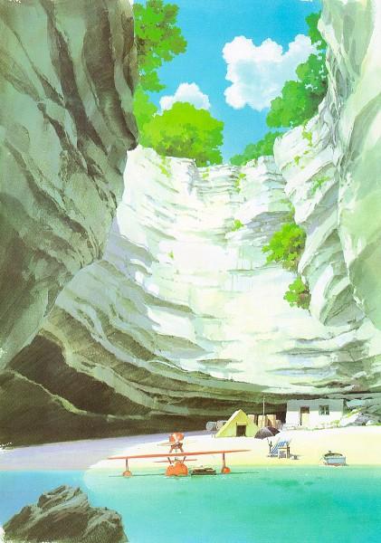 Kurenai no Buta (Porco Rosso) - Studio Ghibli