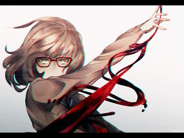 Tags: Anime, Khaizusan, Kyoukai no Kanata, Kuriyama Mirai, Fanart