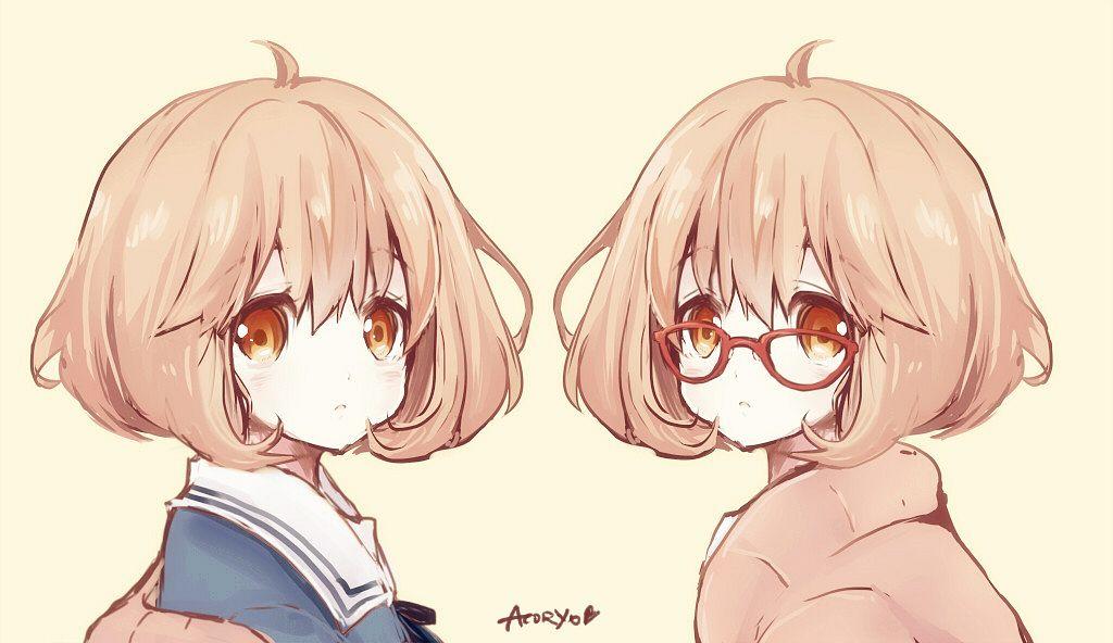 Tags: Anime, Pixiv Id 481697, Kyoukai no Kanata, Kuriyama Mirai