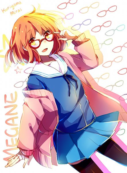 Tags: Anime, Mary-ko, Kyoukai no Kanata, Kuriyama Mirai