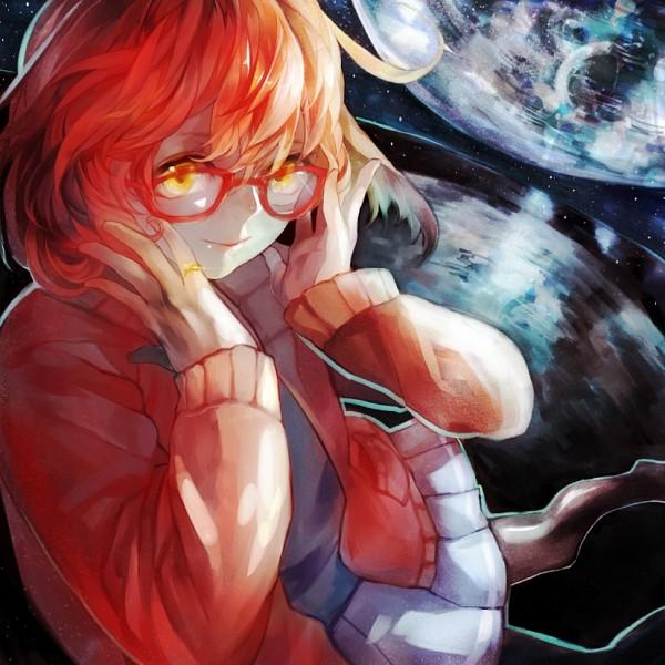 Tags: Anime, Pixiv Id 768654, Kyoukai no Kanata, Kuriyama Mirai, Pixiv